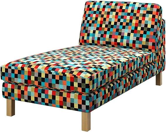 Soferia - IKEA KARLSTAD Funda para chaiselongue Unico, Mozaik Red ...