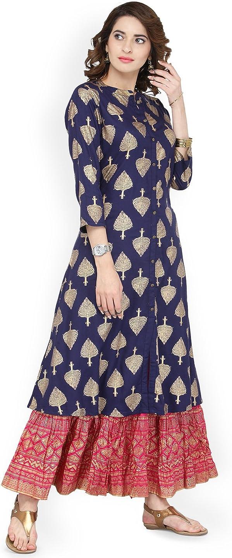 Women Indian Bollywood party wear Tunic formal wear kaftan tops kurti kurta 7000