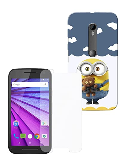 san francisco eb0f9 bd6ef Combo of Moto G3, Moto G Turbo Case with Screen: Amazon.in: Electronics