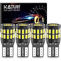 KATUR T10 W5W LED Bombilla 194 168 Superbrillante