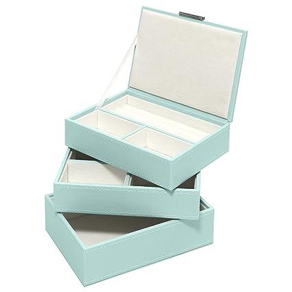 Amazoncom Swing Design Nova Stacking 3 Piece Jewelry Box Small