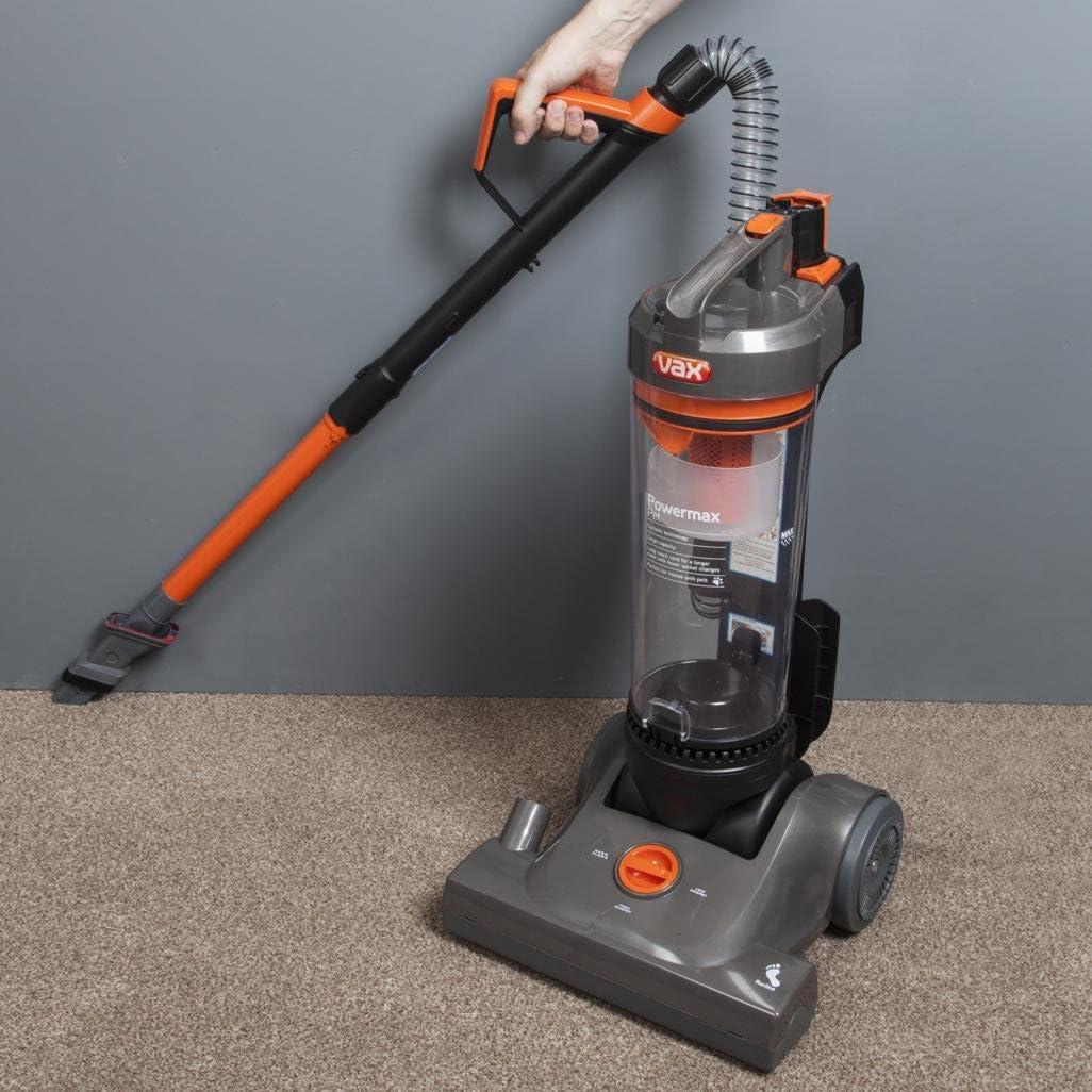 Vax VRS1121 Powermax Pet Upright Vacuum Cleaner Orange, Grey And Black