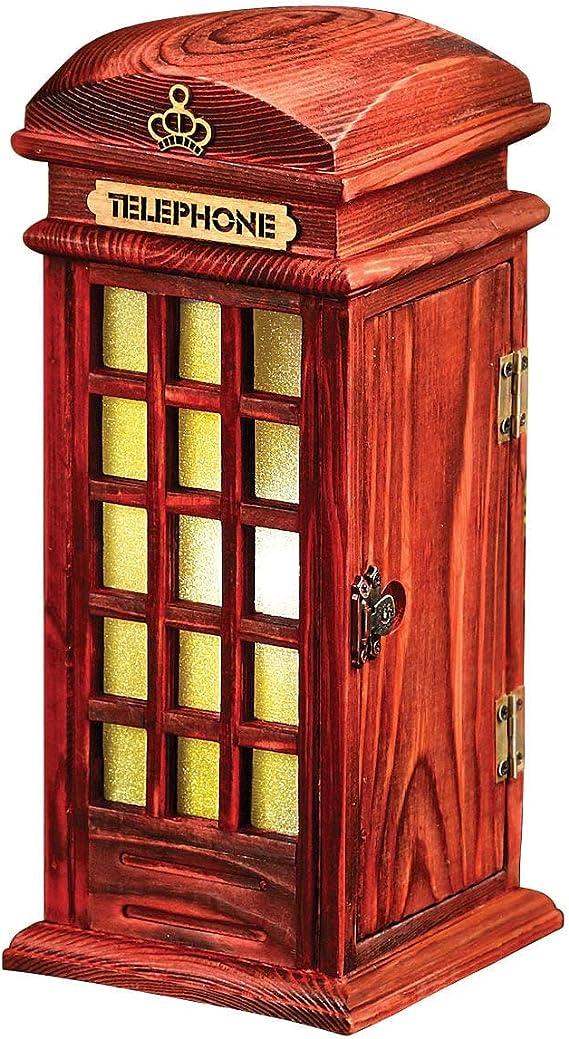 Red Telephone Box Coaster London British Great Britain Mum Gift #15572 4 Set