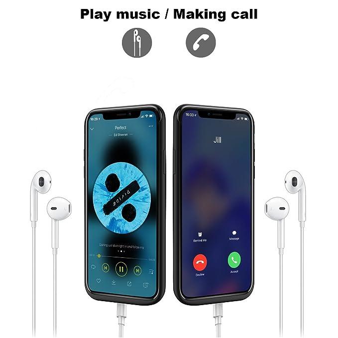 Amazon.com: Funda cargador de batería iPhone de Apple x ...