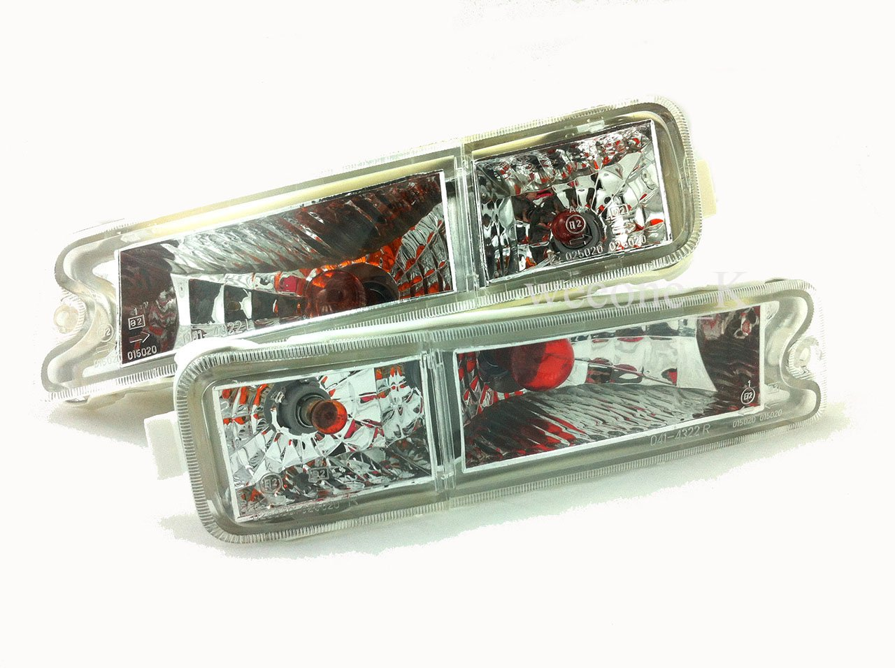 Crystal Front Bumper Indicator Light Lamp For Mitsubishi L200 Strada Animal 1995-2004 Thailand