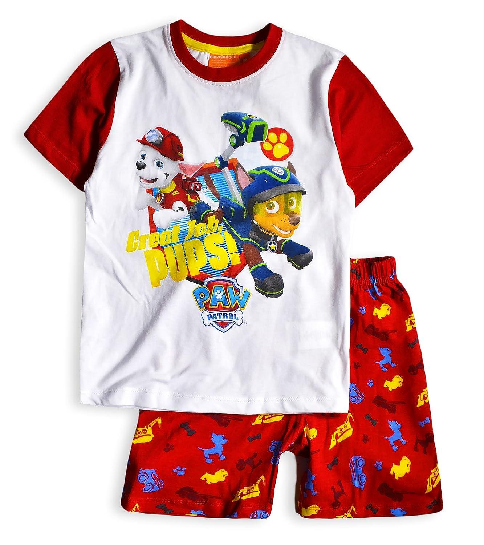 Official Nickelodeon - Pijama dos piezas - Manga Corta - para niño rojo rosso 5 años: Amazon.es: Ropa y accesorios