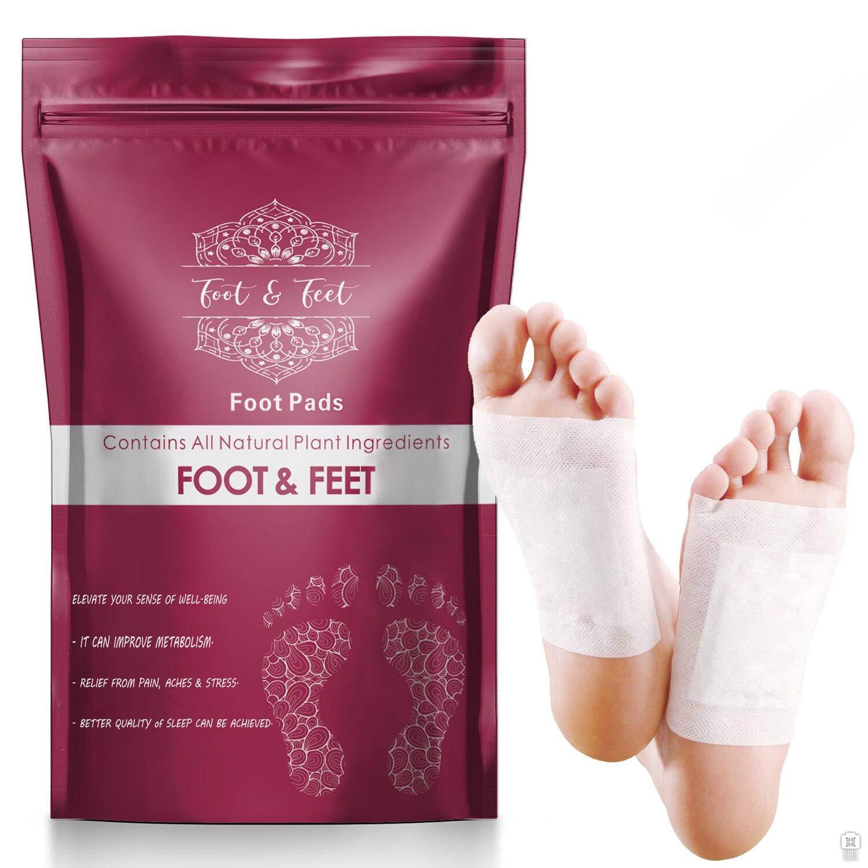 120 Pcs Detox Foot Pads l Premium Foot Pads l All Natural Foot Patches