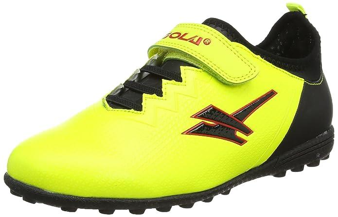Gola Unisex-Kinder Alpha Vx Velcro Fußballschuhe