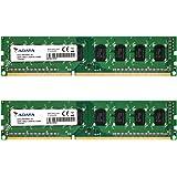 ADATA デスクトップPC用増設メモリ PC3-12800 DDR3-1600(512x8) 8GBx2枚組 1.5V 240pin 無期限保証 AD3U1600W8G11-2