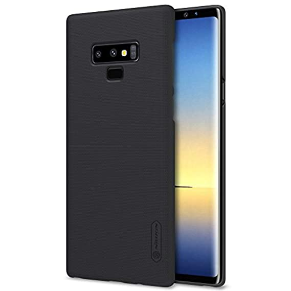 check out 9847f 3ce8c Galaxy Note 9 Case, Nillkin Frosted Shield Hard Slim Case Back Cover  [Support Wireless Charge] for Samsung Galaxy Note 9 - Black