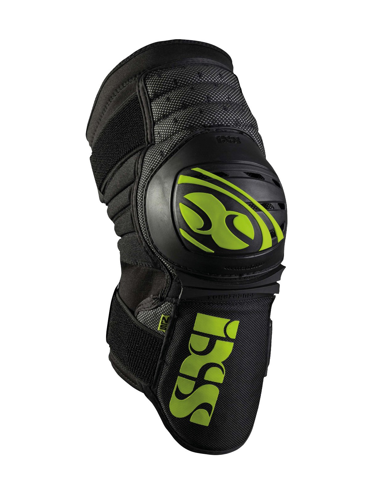 iXS Dagger Knee/Shin Guard - 482-510-3605 (Green - M) by IXS