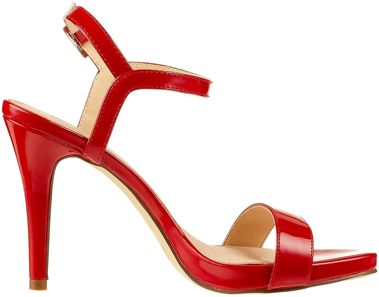 Menbur Damen Italia3 RiemchenSandale Rot Rot RiemchenSandale (Rot) 63f2ac