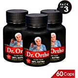 Dr.Ortho Ayurvedic 60 Capsule With Ointment 30 Gm (Pack Of 3)