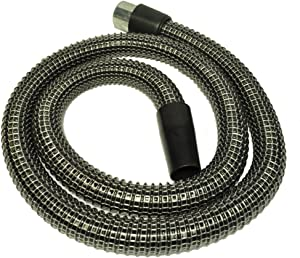 Generic Rainbow Hose, Non Electric for use with carpet shampoo system or for using with attachments, color black, 6 foot, nylon, wire reinforced