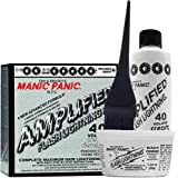 Manic Panic Flash Lightning Hair Bleach Kit - 40 Volume Cream Developer - Hair Lightener Kit for Light, Medium Or Dark Brown