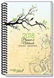 2018 Branches Birds Inspirational Christian Daily Planner January Calendar Year Day Weekly Monthly Views