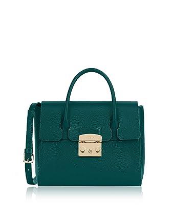 nouveau concept 4860c 0f4d1 Furla , Sac à main pour femme Vert vert Marque Taille taille ...