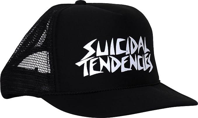 73d05d0902e Amazon.com  Suicidal Tendencies Men s Logo Trucker Cap Adjustable ...