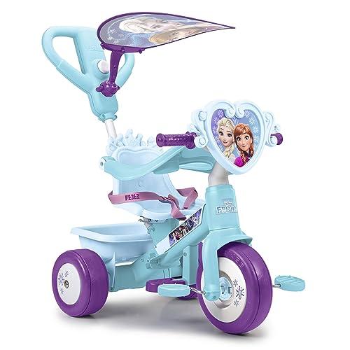 FEBER Triciclo y cochecito de paseo Frozen Famosa 800011814