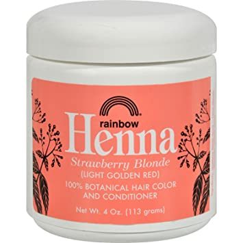 Amazon.com : Rainbow Research Henna Hair Color and Conditioner ...
