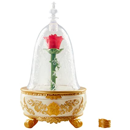 14f91c345 Amazon.com: Disney Beauty & The Beast Live Action Enchanted Rose Jewelry  Box Toy: Toys & Games