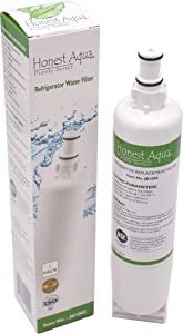 Honest Aqua Purely Better Coconut Carbon Replacement Refrigerator Water Filter, Compatible with Whirlpool 4396508, 4396510, Kenmore 46-9010, EveryDrop Filter 5, EDR5RXD1, nlc240v water filter kenmore