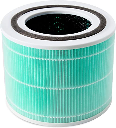 Huante 2 Pcs HEPA Replacement Filter elements,for Air Purifier elements 300 and Core P350,H13 Class 3-In-1 Filter System