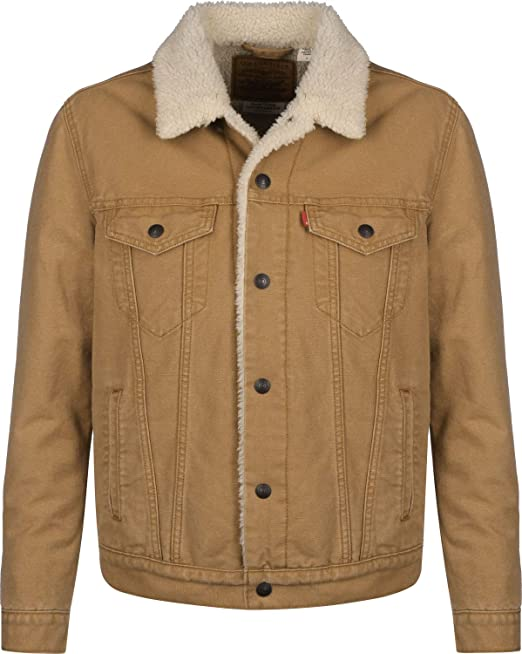 Levi's Herren Winter Jacke Type 3 Sherpa Trucker |