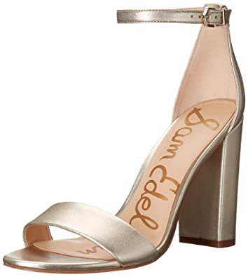 e86f5faf6861 Image Unavailable. Image not available for. Color  Sam Edelman Women s Yaro  Ankle Strap Sandal Heel ...