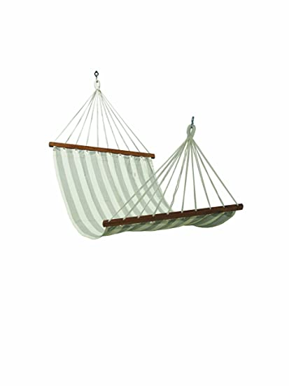 Oak N Oak Comfortable Sleeping Hanging Hammock/Cotton Canvas Hammock Swing/Outdoor Hammock Furniture for Home Patio Garden, Camping, Beach & Leisure Backyard, 3ft Single Person Use - Multicolor