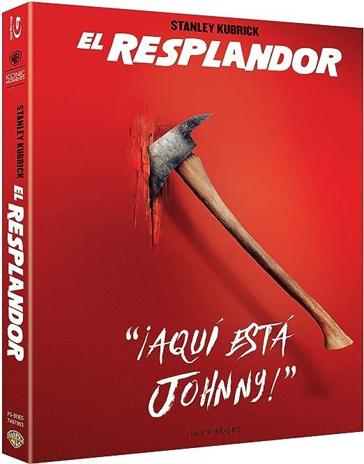 El Resplandor Blu-Ray- Iconic [Blu-ray]: Amazon.es: Jack Nicholson ...