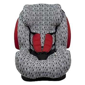 JANABEBE Funda para silla de coche Be Cool, Thunder- Foppapedretti (BLACK RAYO)