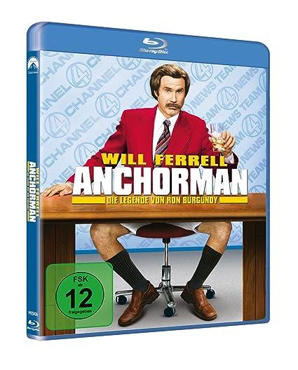 Anchorman - Die Legende von Ron Burgundy Alemania Blu-ray ...
