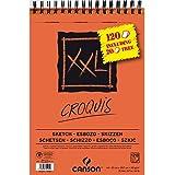 "CANSON Bloc … croquis spirale ""XXL"", A4, 120 feuilles"
