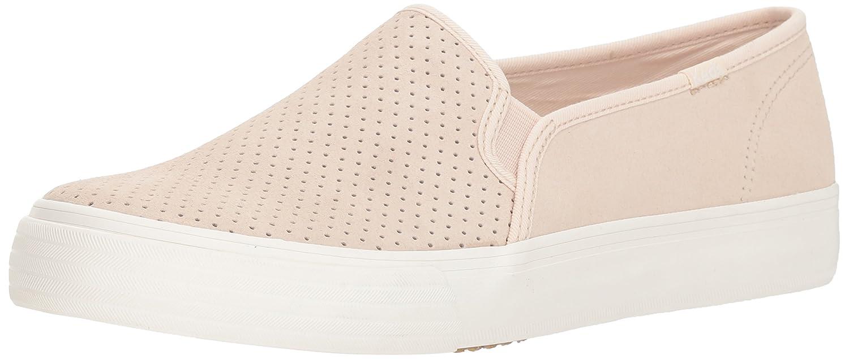 Keds Women's Double Decker Perf Suede Sneaker B078WKBGS3 8.5 W US|Petal Pink