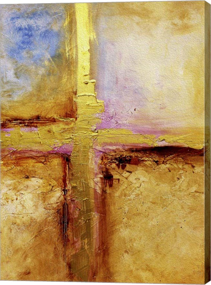 Conquer by Natasha Wescoat Canvas Art Wall Picture, Gallery Wrapped with Image Around Edge, 18 x 25 inches