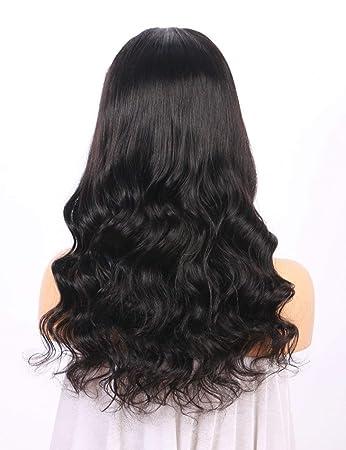 BEEOS Hair Brazilian Remy Lace Front Wigs for Women- Glueless 180 Density Long Wavy Human