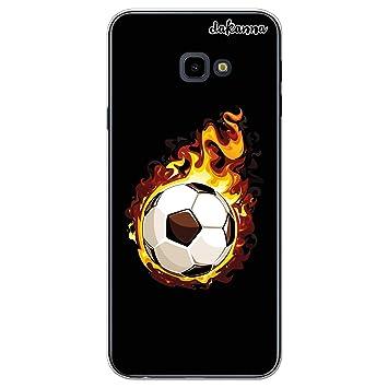 dakanna Funda para Samsung Galaxy J4 Plus | Balón de Fútbol en ...