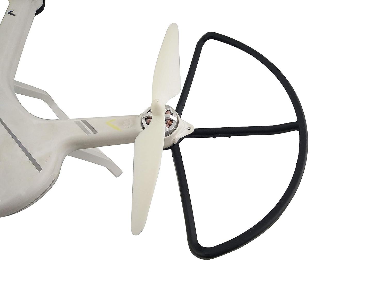 Metermall RC Quadcopter Spare Parts Propellers for Hubsan X4 H502S H502E H502T H507A H216A Green Drone Quadcopters Multirotors