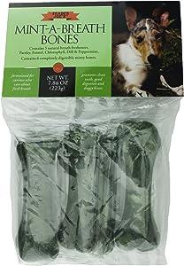 Trader Joe's Mint-A-Breath Minty Bones for Dogs (6 Bones)