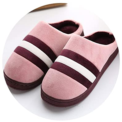 ada4373191d0 Image Unavailable. Image not available for. Color  Home Slippers Winter  Warm Slippers Indoor Bedroom Women House Shoes ...