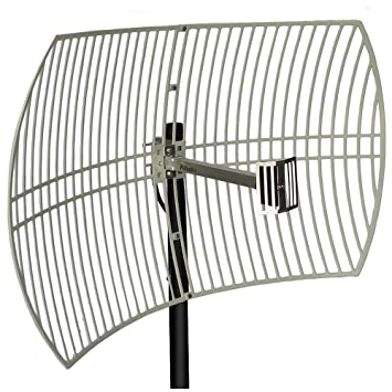 Feed for 2.4GHz 802.11bgn 24dBi WiFi Parabolic Grid Antenna
