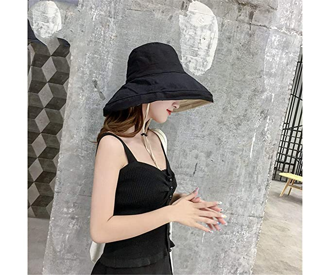 Sombrero de sombrilla de Verano para Mujer Sombrero de ...