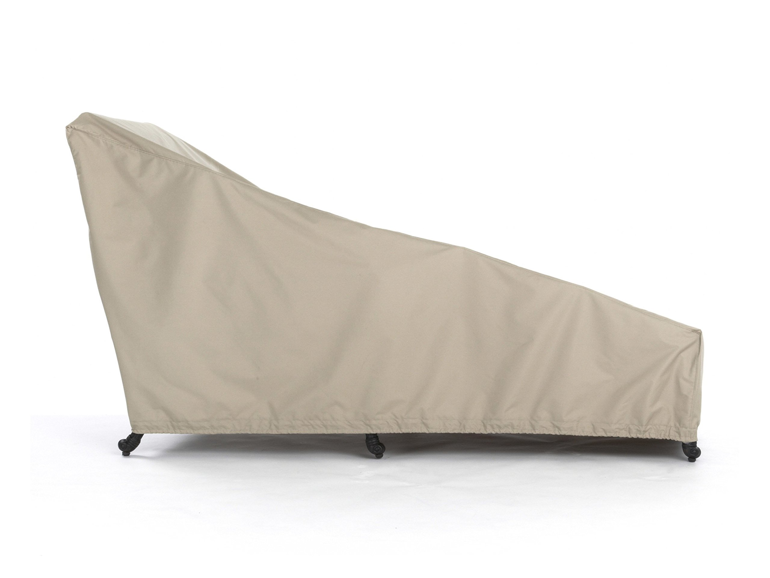 Covermates – Chaise Lounge Cover – 25W x 78D x 30H – Elite Collection – 3 YR Warranty – Year Around Protection - Khaki