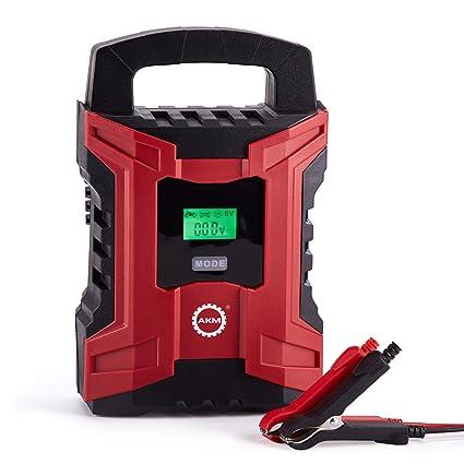 AKM batería Cargador 6 V/12 V 10 A Modo de carga, indicador ...