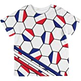 4th of July USA World Cup Soccer Ball All Over Youth T Shirt
