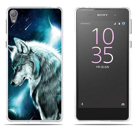 FUBAODA Funda Sony Xperia E5 Carcasa de Silicona ...