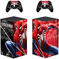 Adventure Games - Spiderman, Logo - Vinyl Console Skin Decal Sticker + 2 Controller Skins Set - Compatible with Xbox…