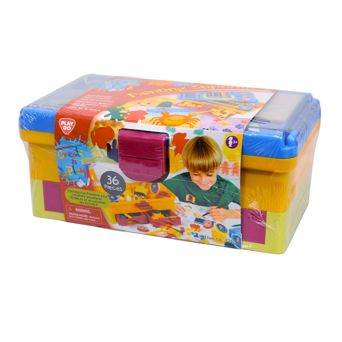 PlayGo 7212 Super - 36–Piece Painting Set