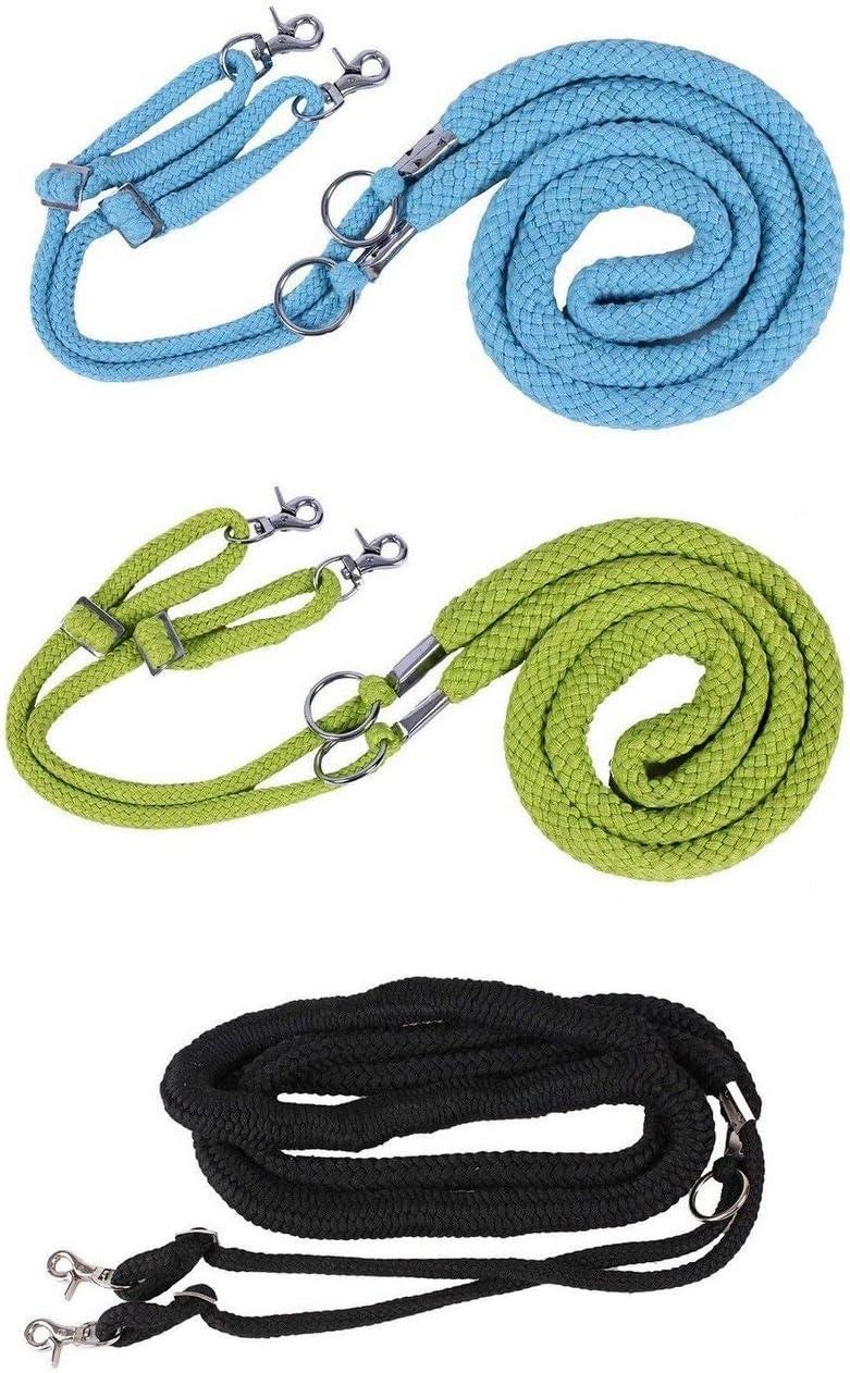 NETPROSHOP Longiersystem Longierhilfe aus Baumwolle farbig